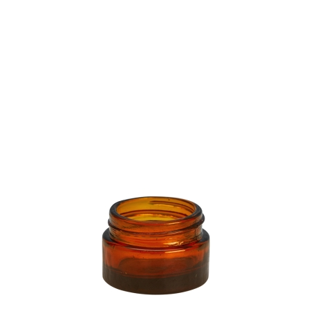 15g Amber Cos Pot Unfitted (40mm)