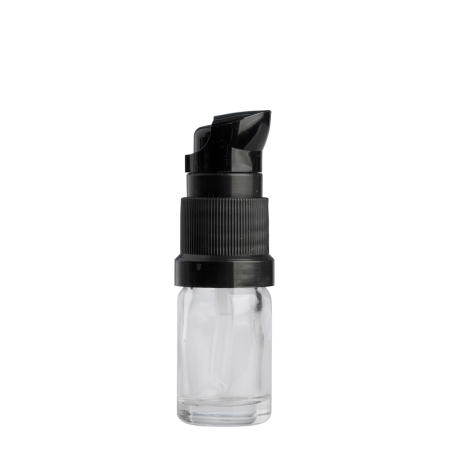 5ml Clear Drip Btl & 18mm Black Lotion (Germany)