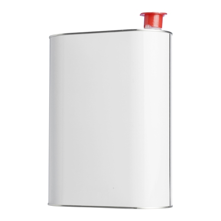 5 Litre Metal Can & Red Pourer Cap