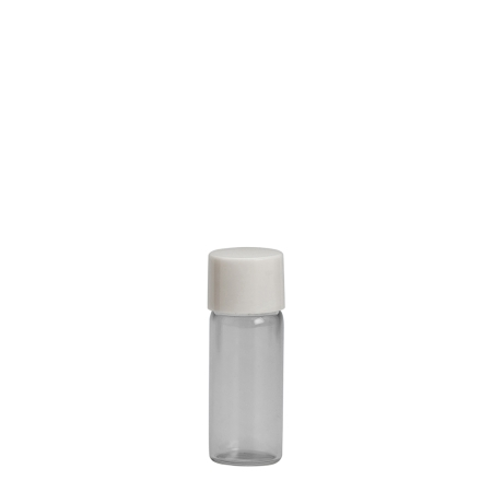 2ml Clear Vial & 11mm White Wad Cap