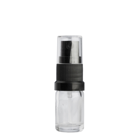 5ml Clear Drip Btl & 18mm Black Mist (Germany)