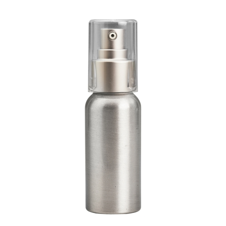 50ml Aluminium Btl & 24mm Brush-Alum Cos Lotion