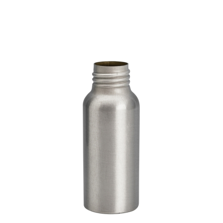 50ml Aluminium Btl Unfitted (24mm)