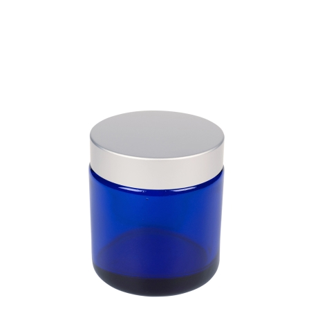 100g Blue Cos Pot & 58mm Brush-Alum Wad Cap