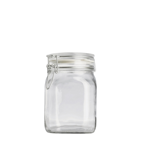 1000ml Fido Jar & Wire Cliptop