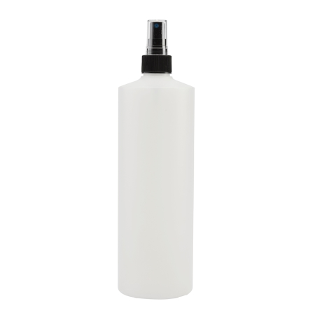 1 Litre Natural Flexicon Btl & 28mm Black Ribbed Mist