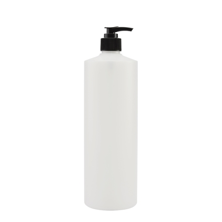 1 Litre Natural Flexicon Btl & 28mm Black Lotion