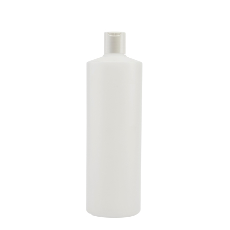 1 Litre Natural Flexicon Btl & 28mm White Disc Cap