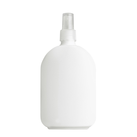 375ml White Flask & 24mm Natural Mist