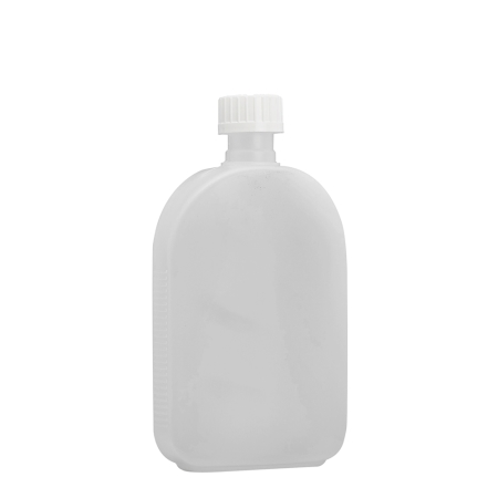 375ml Natural Flask & 24mm White C/Resistant