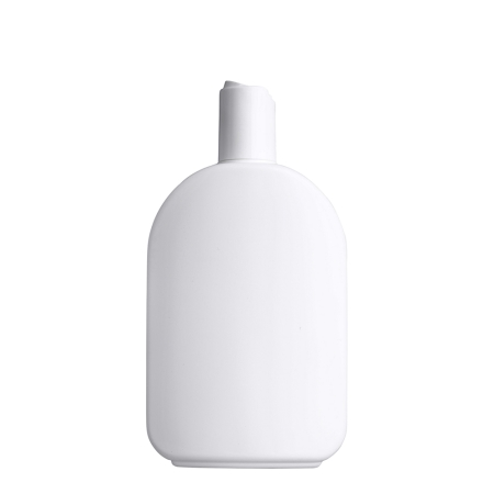 375ml White Flask & 24mm White Deep Disc Cap