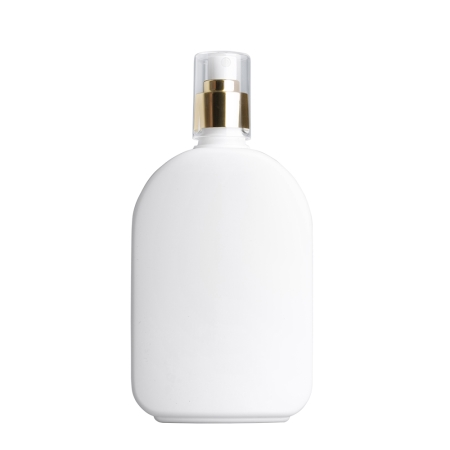 375ml White Flask & 24mm Gold/White Cos Mist