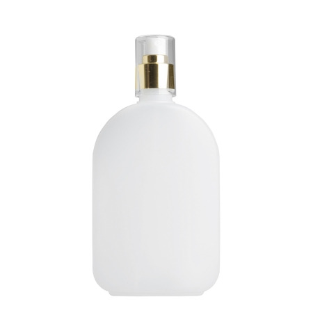 375ml Natural Flask & 24mm Gold/White Cos Mist