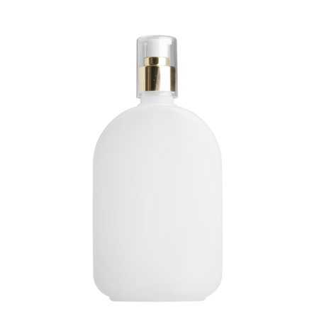 375ml Natural Flask & 24mm Gold Cos Lotion