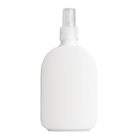 250ml White Flask & 24mm Natural Mist
