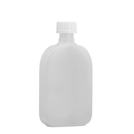 250ml Natural Flask & 24mm White C/Resistant