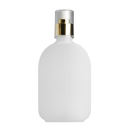 250ml Natural Flask & 24mm Gold/White Cos Mist