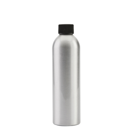 250ml Aluminium Btl & 24mm Black Coneseal
