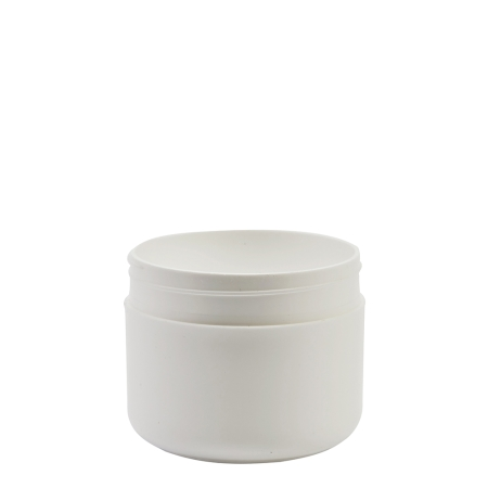 100g White Plastic Cos Pot Unfitted