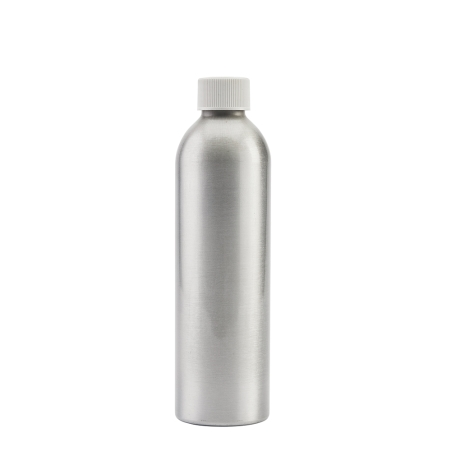 250ml Aluminium Btl & 24mm White Coneseal