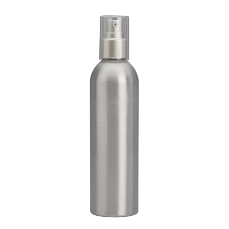 250ml Aluminium Btl & 24mm Brush-Alum Cos Lotion