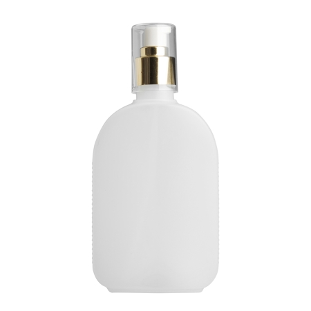 250ml Natural Flask & 24mm Gold Cos Lotion
