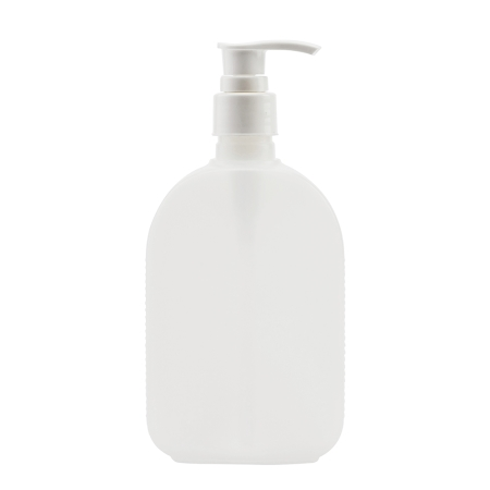 250ml Natural Flask & 24mm White Smooth Lotion
