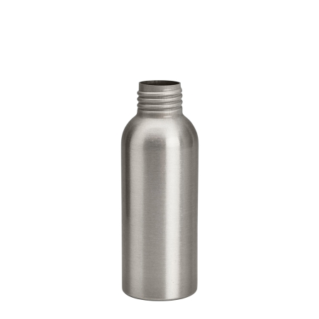 100ml Aluminium Btl Unfitted (24mm)