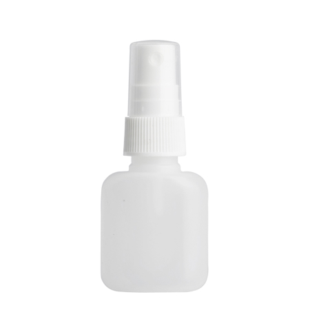 30ml Natural Flask & 20mm White Ribbed Mist