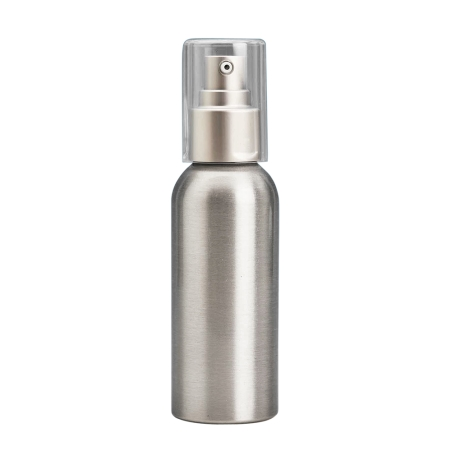100ml Aluminium Btl & 24mm Brush-Alum Cos Lotion