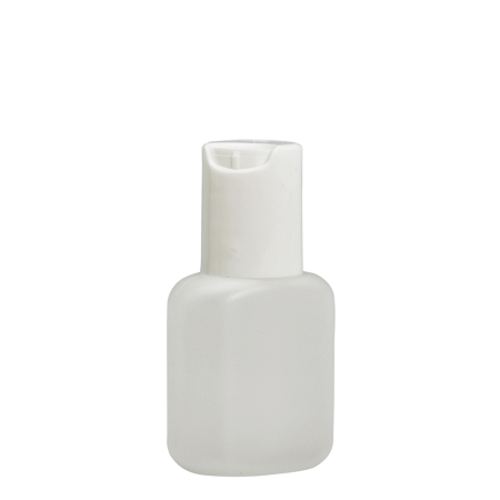 30ml Natural Flask & 20mm White Disc Cap