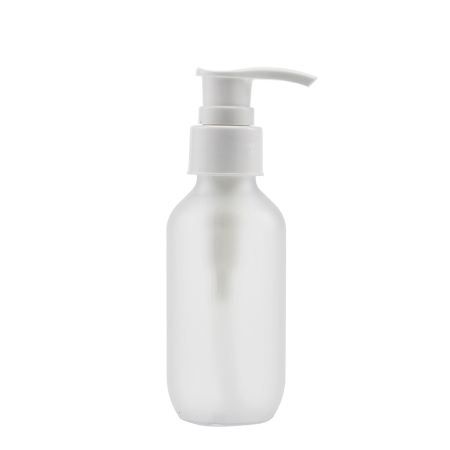 100ml Frosted Prem Btl & 24mm White Smooth Lotion