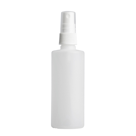 125ml Natural Prem Btl & 20mm White Ribbed Mist