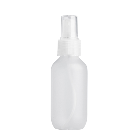 100ml Frosted Prem Btl & 24mm Natural Ribbed Mist