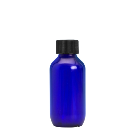 100ml Blue Prem Btl & 24mm Black Coneseal