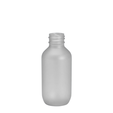 100ml Frosted Prem Btl Unfitted (24mm)