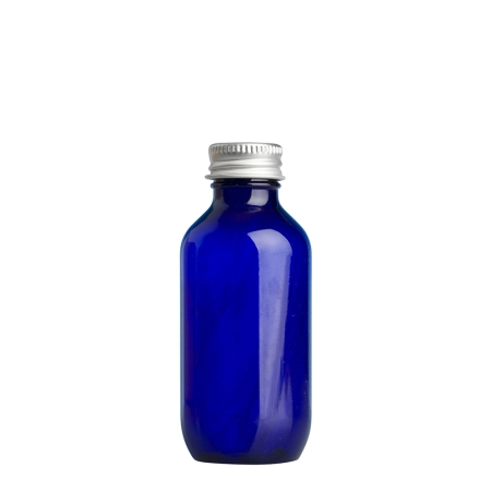 100ml Blue Prem Btl & 24mm Alum Wad Cap