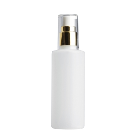 125ml Natural Prem Btl & 20mm Gold/White Cos Lotion