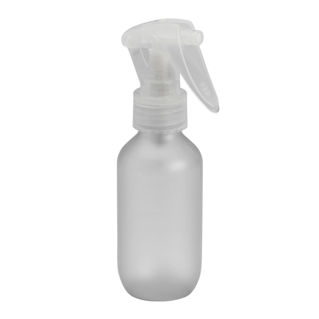 100ml Frosted Prem Btl & 24mm Natural Trigger Spray