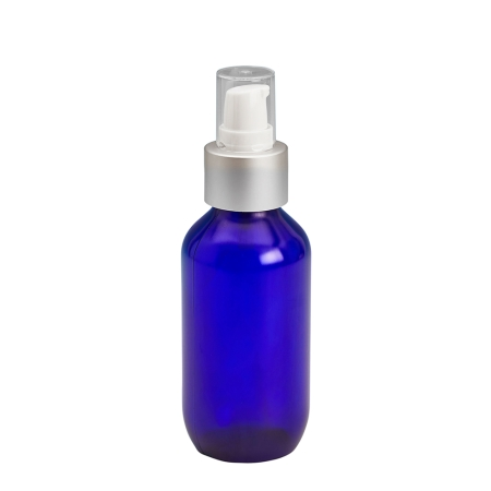 100ml Blue Prem Btl & 24mm BA/White Top Cos Lotion