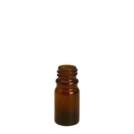 5ml Amber Drip Btl (China) Unfitted (18mm)