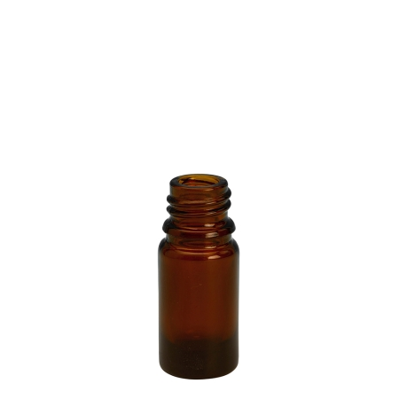 5ml Amber Drip Btl (Germany) Unfitted (18mm)