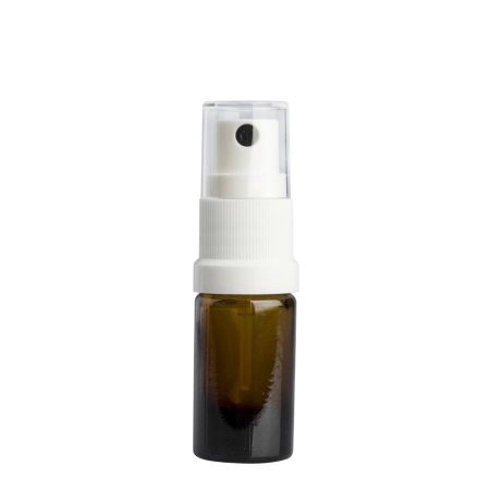 5ml Amber Drip Btl (Germany) & 18mm White Mist (Germany)