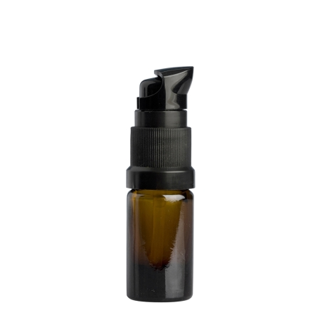 5ml Amber Drip Btl (Germany) & 18mm Black Lotion (Germany)