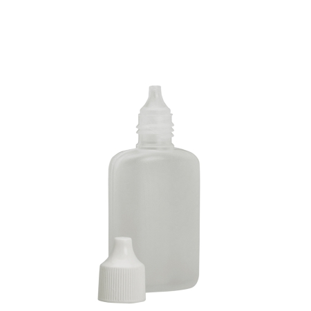 25ml Natural Nasal Flask & White Cap & Plug