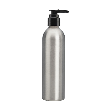 250ml Aluminium Btl & 24mm Black Smooth Lotion