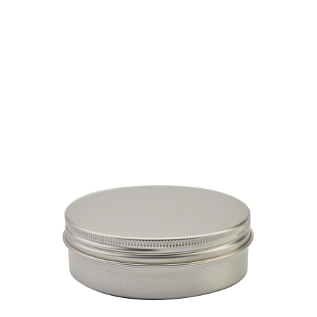 100g Aluminium Pot & Alum Screw Cap