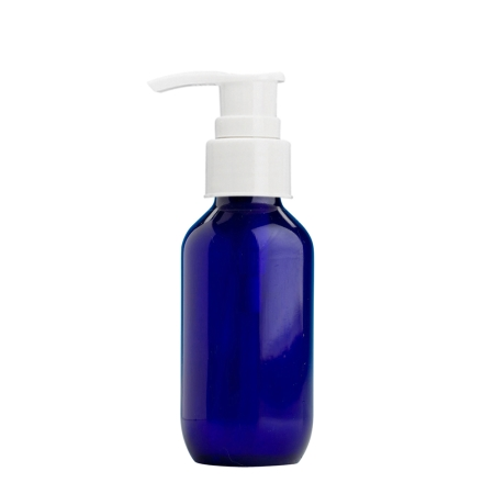 100ml Blue Prem Btl & 24mm White Smooth Lotion