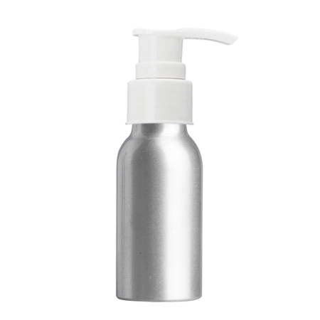 50ml Aluminium Btl & 24mm White Smooth Lotion
