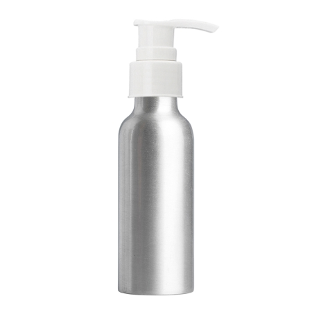 100ml Aluminium Btl & 24mm White Smooth Lotion